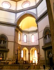 Inside the Santa Maria del Fiore Cathedral