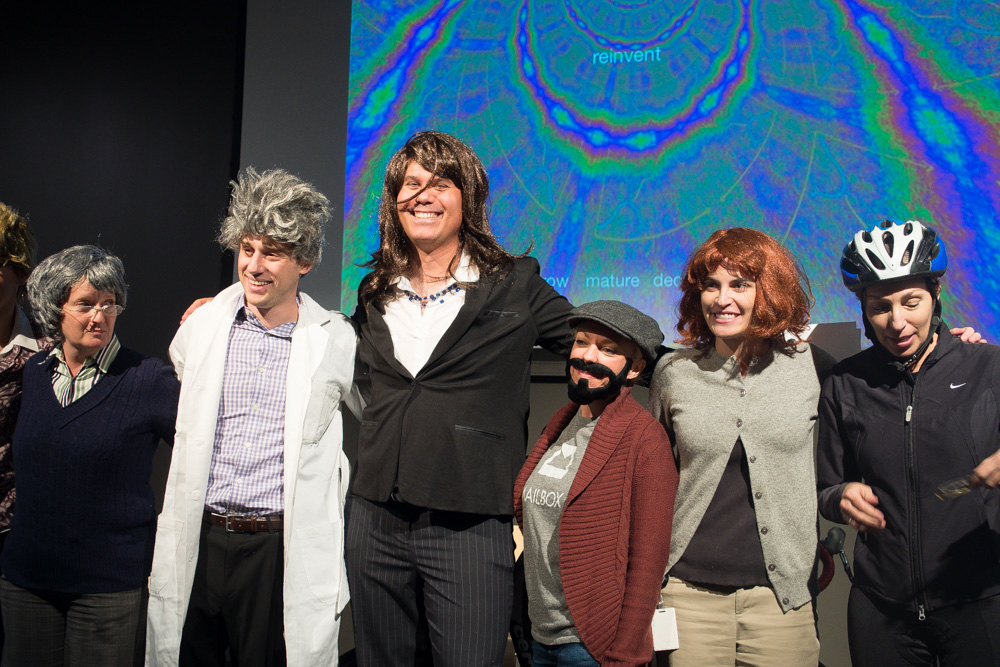 content team photo halloween 2013