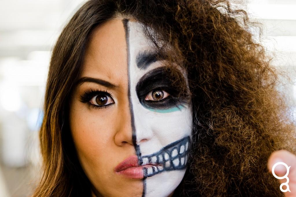 niki two face halloween 2013