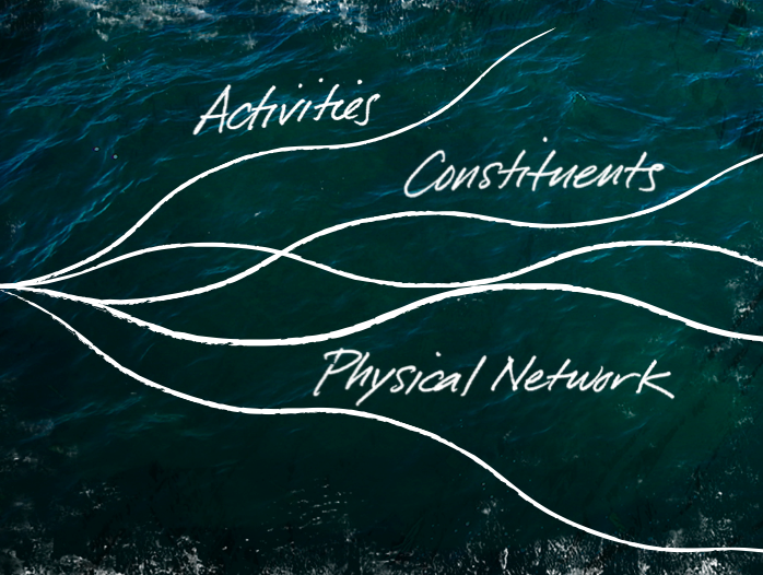 activities - constituents - physical network