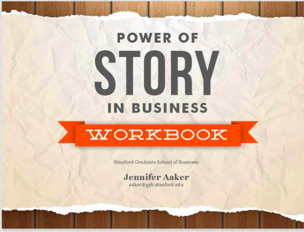 Power of Story in Business Workbook