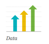 data presentation slide progressing up