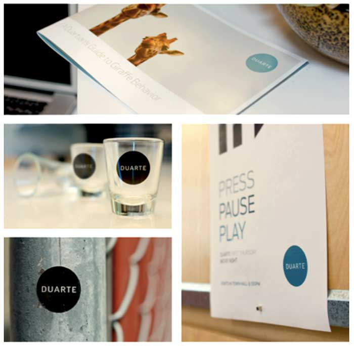 branding on items