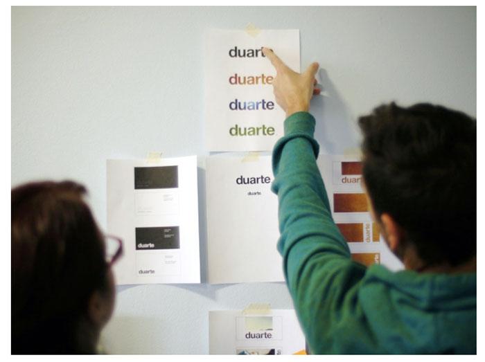 Duarte team brainstorming
