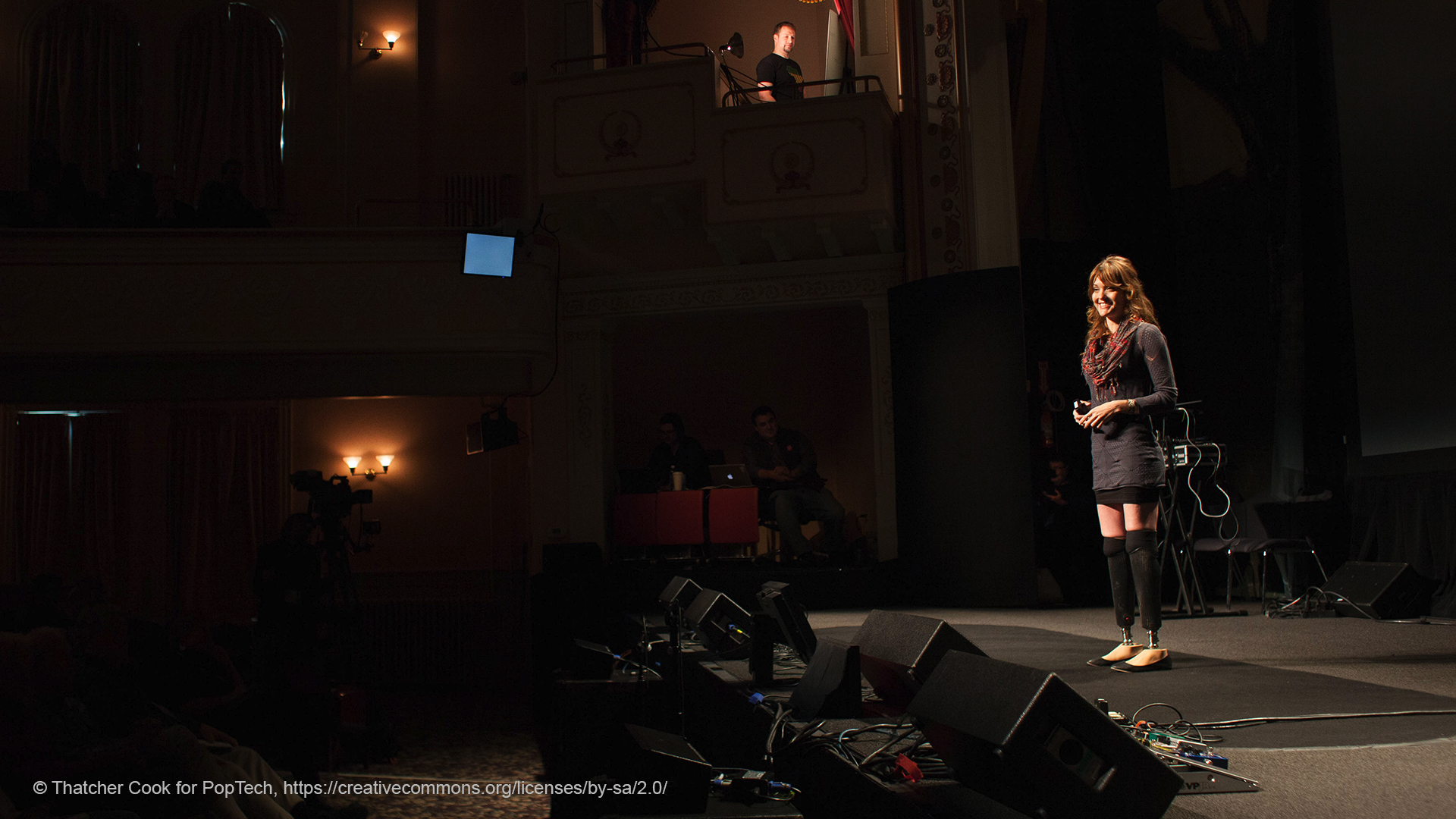 storytelling presentation skills are used in TED talks