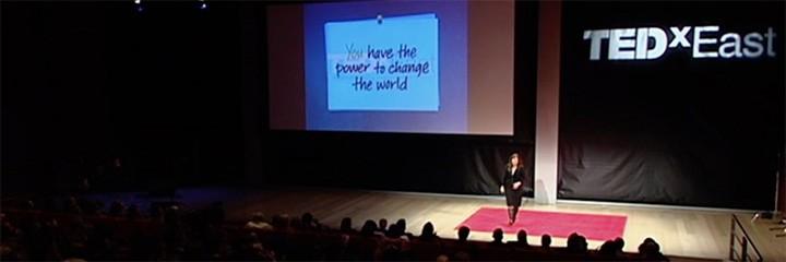 Nancy Duarte presents at TED Talk
